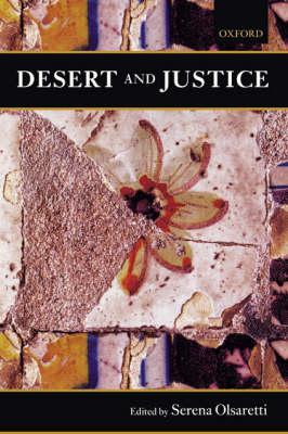 Desert and Justice - Mind Association Occasional Series (Hardback)