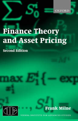 Finance Theory and Asset Pricing: Second Edition (Hardback)