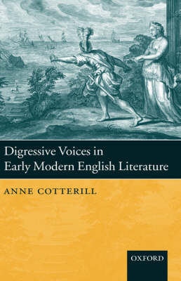 Digressive Voices in Early Modern English Literature (Hardback)