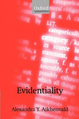 Evidentiality (Hardback)