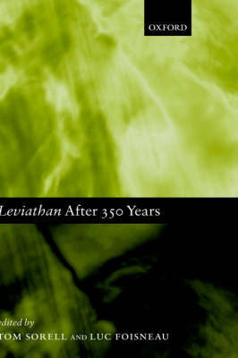 Leviathan after 350 Years - Mind Association Occasional Series (Hardback)