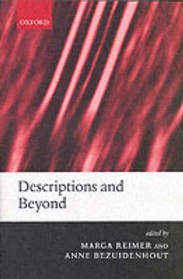 Descriptions and Beyond (Paperback)