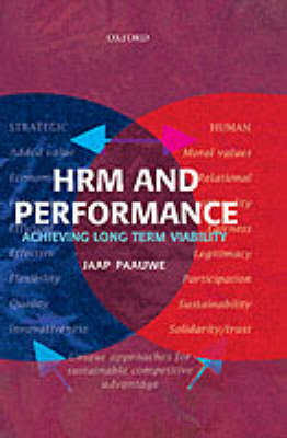 HRM and Performance: Achieving Long Term Viability (Hardback)