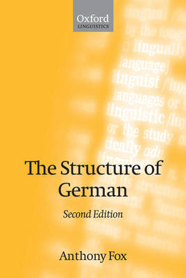 The Structure of German (Paperback)