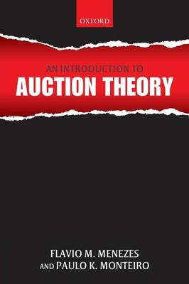 An Introduction to Auction Theory (Paperback)