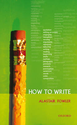 How to Write (Paperback)