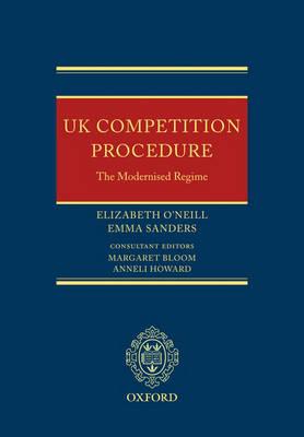 UK Competition Procedure: The Modernised Regime (Hardback)