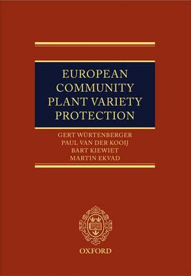 European Community Plant Variety Protection (Hardback)