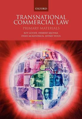 Transnational Commercial Law: Primary Materials (Paperback)