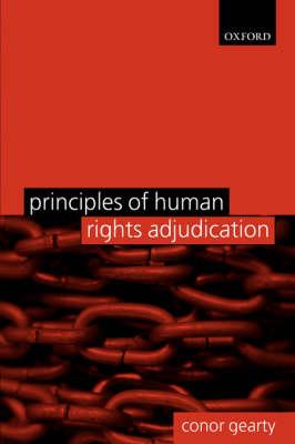 Principles of Human Rights Adjudication (Paperback)