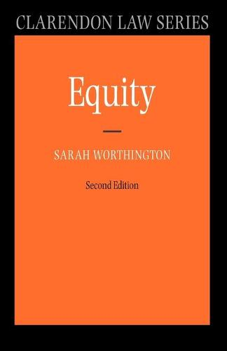 Equity - Clarendon Law Series (Paperback)