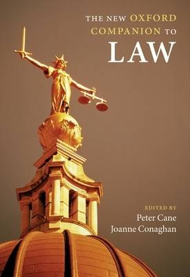 The New Oxford Companion to Law - Oxford Companions (Hardback)