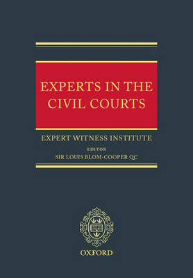Experts in the Civil Courts (Hardback)