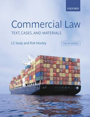 Commercial Law: Text, Cases, and Materials (Paperback)