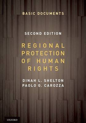 Regional Protection of Human Rights: Documentary Supplement (Paperback)