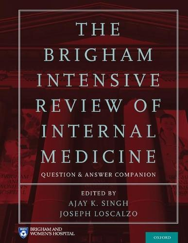 The Brigham Intensive Review of Internal Medicine Question and Answer Companion (Paperback)