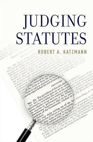 Judging Statutes (Hardback)