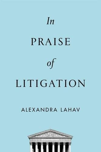 In Praise of Litigation (Hardback)