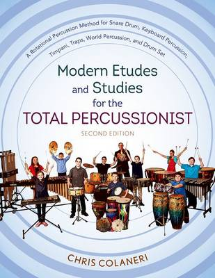 Modern Etudes and Studies for the Total Percussionist (Spiral bound)
