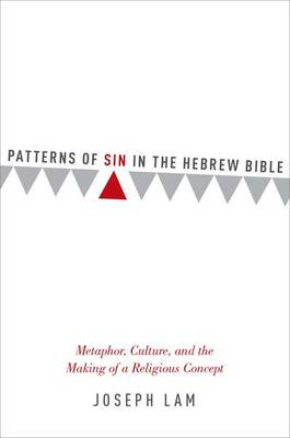 Patterns of Sin in the Hebrew Bible: Metaphor, Culture, and the Making of a Religious Concept (Hardback)