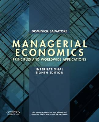Managerial Economics in a Global Economy (Paperback)