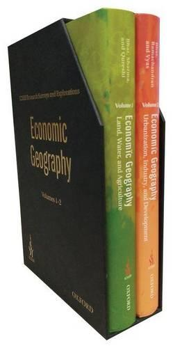 ICSSR Research Surveys and Explorations: Economic Geography, Volumes 1 & 2