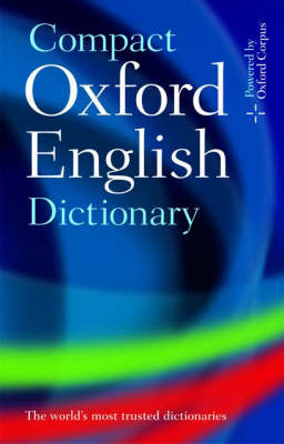 Compact Oxford English Dictionary of Current English: Third edition revised (Hardback)