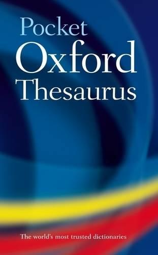 Pocket Oxford Thesaurus (Hardback)