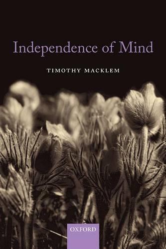 Independence of Mind (Paperback)