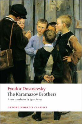 The Karamazov Brothers - Oxford World's Classics (Paperback)