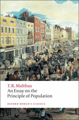 An Essay on the Principle of Population - Oxford World's Classics (Paperback)