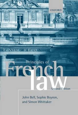 Principles of French Law (Hardback)