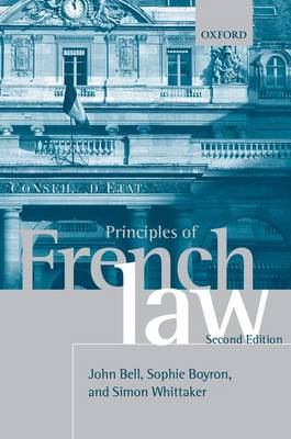 Principles of French Law (Paperback)