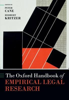The Oxford Handbook of Empirical Legal Research - Oxford Handbooks (Hardback)