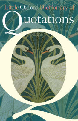 Little Oxford Dictionary of Quotations (Hardback)