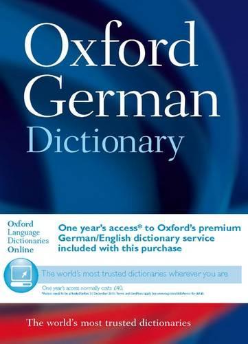 Oxford German Dictionary (Hardback)