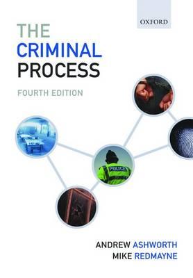 The Criminal Process (Paperback)
