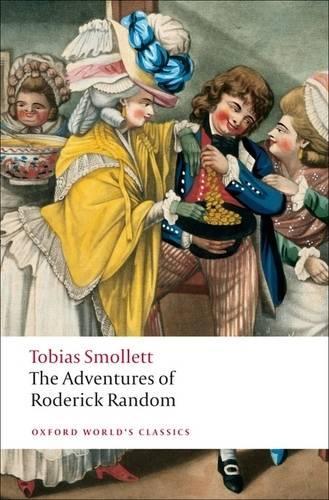 The Adventures of Roderick Random - Oxford World's Classics (Paperback)