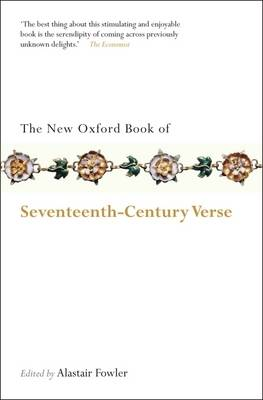 The New Oxford Book of Seventeenth-Century Verse - Oxford Books of Prose & Verse (Paperback)
