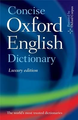 Concise Oxford English Dictionary (Hardback)