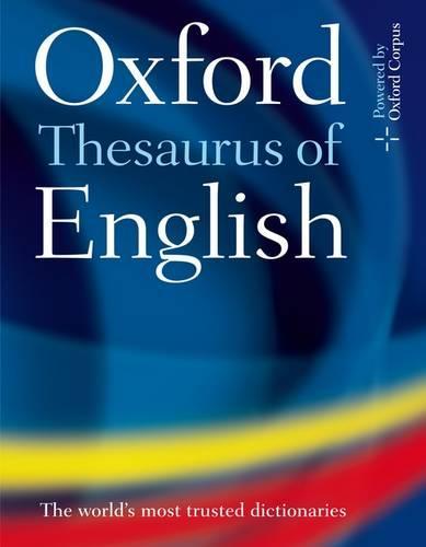 Oxford Thesaurus of English (Hardback)