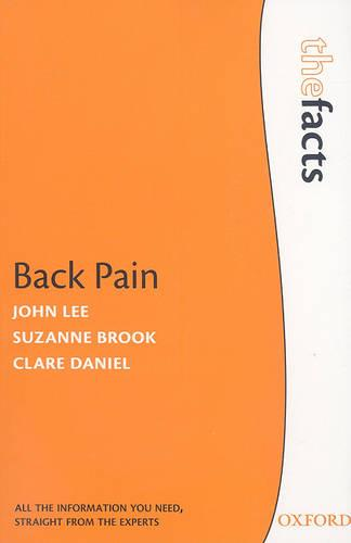 Back Pain - The Facts (Paperback)