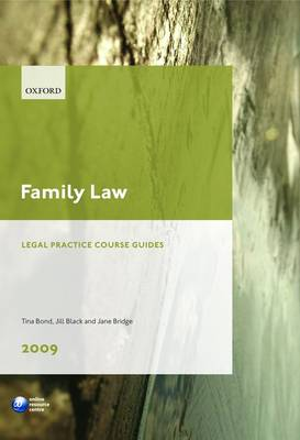 Family Law 2009 2009: LPC Guide - Legal Practice Course Guide (Paperback)