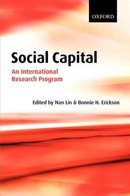 Social Capital: An International Research Program (Paperback)