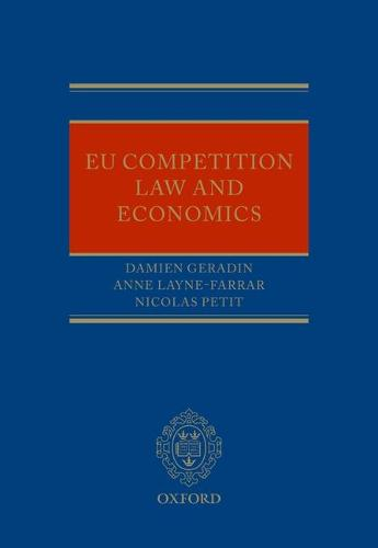 EU Competition Law and Economics (Hardback)