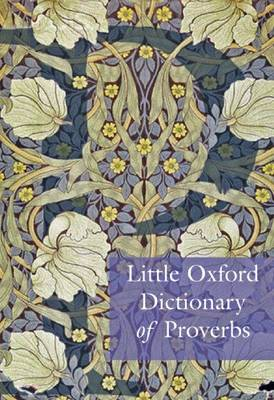 Little Oxford Dictionary of Proverbs (Hardback)