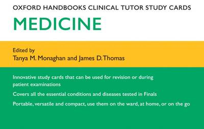 Oxford Handbooks Clinical Tutor Study Cards: Medicine - Oxford Handbooks Study Cards
