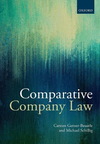 Comparative Company Law (Hardback)