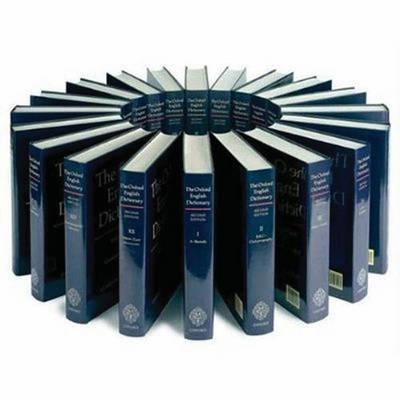 Oxford English Dictionary: 20 vol. print set & CD ROM