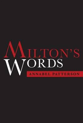 Milton's Words (Hardback)